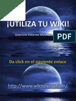 3. Edita página inicio Wiki