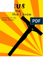 Jesus Loves Me, this I know - e-book for Lent and Easter