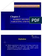 Market Segmentation,Targeting and Positioning