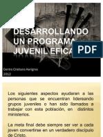 Desarrollando un programa 01_19_2012
