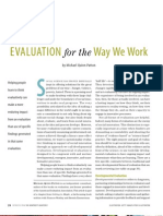 Michael Quinn Patton - Developmental Evaluation (2006)