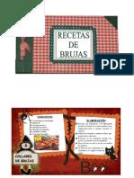 RECETAS DE BRUJAS