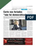 Entrevista de Emília Araújo Correio do Minho
