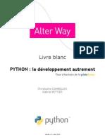 PythonLeDeveloppementAutrement