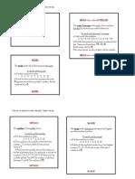 Data Analysis Flip Book