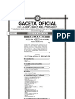 Gaceta Oficial - Ley 4584/12 (Desbloqueo)