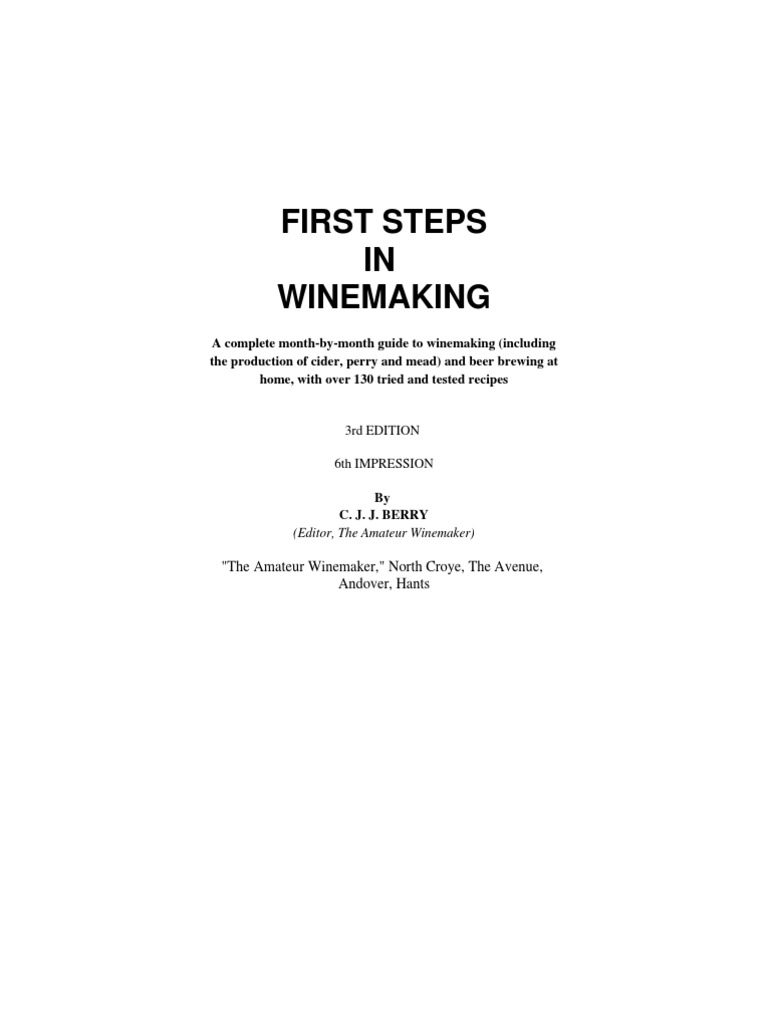 Ebooks wine and beer making fermentation in winemaking yeast fandeluxe Gallery