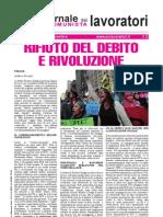 Comunisti Giornale Ottobre Novembre 2011