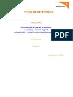 TDR Diseño de Investigación en Infancia - World Vision Perú