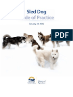 Sled Dog Code of Practice
