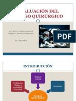 Evaluacion Del Riesgo Cardiovascular Peoperatorio en Cirugia No Cardiaca.