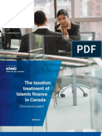 The Taxation Treatment of Islamic Finance in Canada