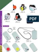Dorcas-medallas y Llaveros
