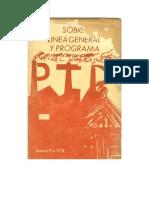 PTD Sobre Linea General y Programa
