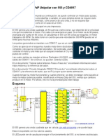 Accionar Motor PaP Unipolar Con 555 y CD4017