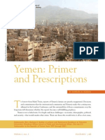Yemen Primer and Prescriptions