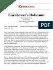 Eisenhowers Holocaust
