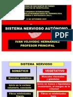sistema nerviosos autonomo