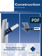 ASI - Design Model for Light Bracing Cleat Connections