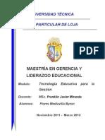 Redacte un resumen análisis relacionado con las Nuevas Tecnologías en la Educación.