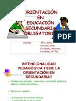 ORIENTACIÓN EN EDUCACIÓN SECUNDARIA OBLIGATORIA