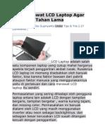 Cara Merawat LCD Laptop Agar Awet Dan Tahan Lama