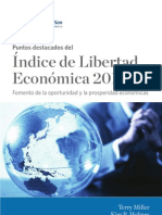 Indice 2012 de Libertad Economica