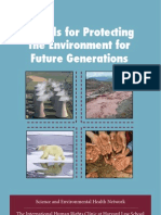 Models for Protecting the Environment for Future Generations