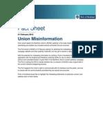 POAL -Union-Misinformation 21 Feb