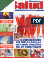 Lluís Botinas - Fraude VIH/SIDA (DSalud 115 abril 2009) - «La versión oficial del Sida se basa en un fraude científico del Dr. Robert Gallo»