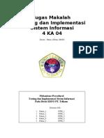 Tugas Testing Implementasi Makalah Telkom
