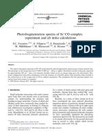 S.C. Farantos et al- Photofragmentation spectra of Sr^+ CO complex
