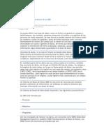 Definición y Características de un SBD