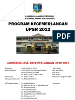 Pw Program Kecemerlangan Upsr 2012
