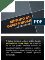 MÉTODO DE GAUSS JORDAN
