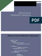 TIPOS DE SUTURAS