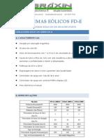 Geradores Eolicos FD-E
