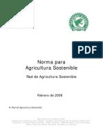 Norma Rain Forest 2008 Red de Agricultura Sostenible