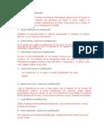 CUESTIONARIO DE LEGISLACIÓN LABORAL. 1 PARCIAL