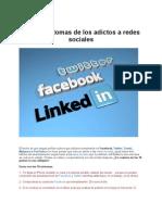 10 Sintomas de Los Adictos a Redes Sociales 2012