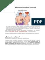 Anorexia y Bulimia Enfermedades Modernas 2012