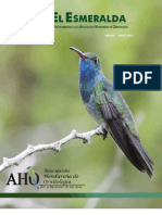 El Esmeralda Vol. 1 Año 2012 - Boletín Informativo de la Asociación Hondureña de Ornitología.