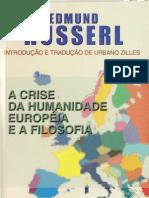 (2) Husserl _crise Da Humanidade Europeia
