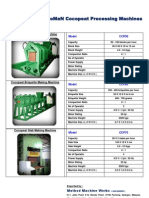 2011 Cocopeat Processing Machine Catalogue