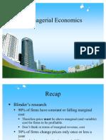 Managerial Economics PPT @ BECDOMS07