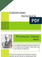Concepciones psicologicas