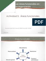 Areas Funcionales