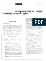 50 Useful Mind-Mapping Tools for College Students
