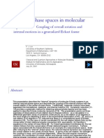 F. J. Lin- Reduced phase spaces in molecular dynamics