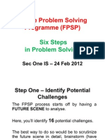 FPSP Six Steps in Problem Solving